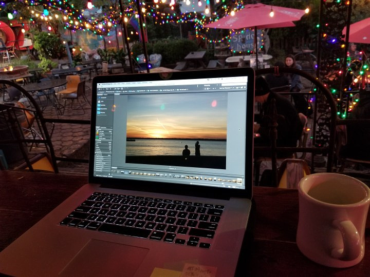 Photo Editing at Spider House