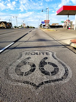 Route 66 Road Sign - GOOD