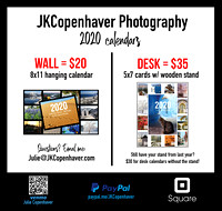 2020 JKC Calendars For Sale - Purchase either one from this link!